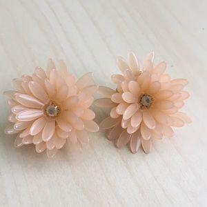 J. Crew flower petal stud earrings